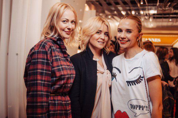 Ольга Аленова, Светлана Евдокименко и Ирина Турбаевская