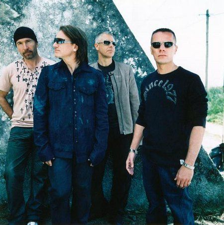 Музыканты из U2 оказались на втором месте