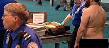 В аэропорту Портленда арестовали голого пассажира