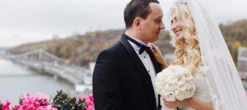 Появились новые фото свадьбы замминистра юстиции