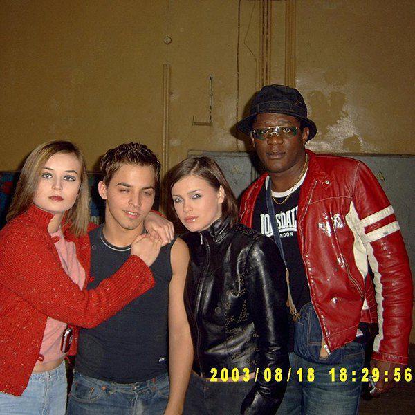 Полина Гагарина (слева), Дмитрий Прасковьи, Елена Темникова (вторая справа), Пьер Нарцисс (справа)