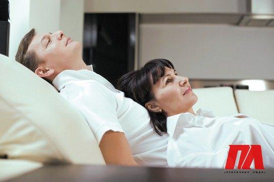 Супруги отдыхают