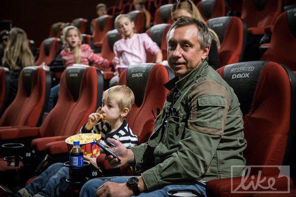 Семен Горов с сыном