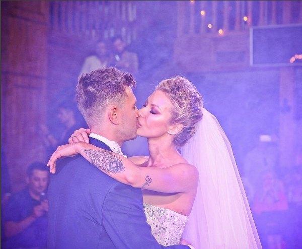 Полина Логунова и Дмитрий Ступка поженились год назад