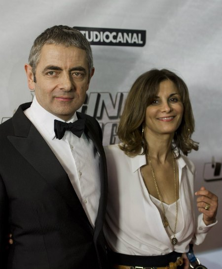 Роуэн Аткинсон с Санетре Сэстри