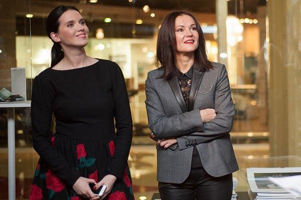 Янина Соколова и Наталья Кравец