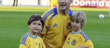 Андрей Шевченко в четвертый раз стал отцом