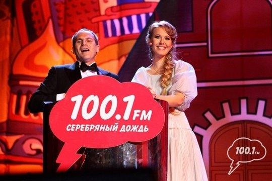 Ведущие церемонии - Михаил Шац и Ксения Собчак