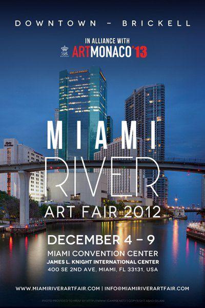 Афиша выставки в Майами