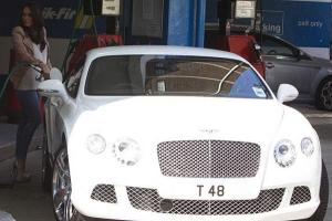 """Тамара Экклстоун """"засветила"""" белый Bentley"""