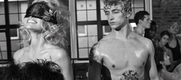Украинский танцовщик Сергей Полунин оголился в провокационной фотосесии с Памелой Андерсон