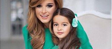 Бородина снялась в фотосессии вместе с дочерью