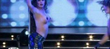 Лариса Рикельме устроила разврат на телешоу