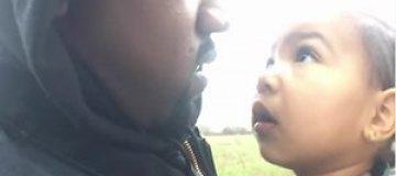 Канье Уэст снял годовалую дочку в своем клипе