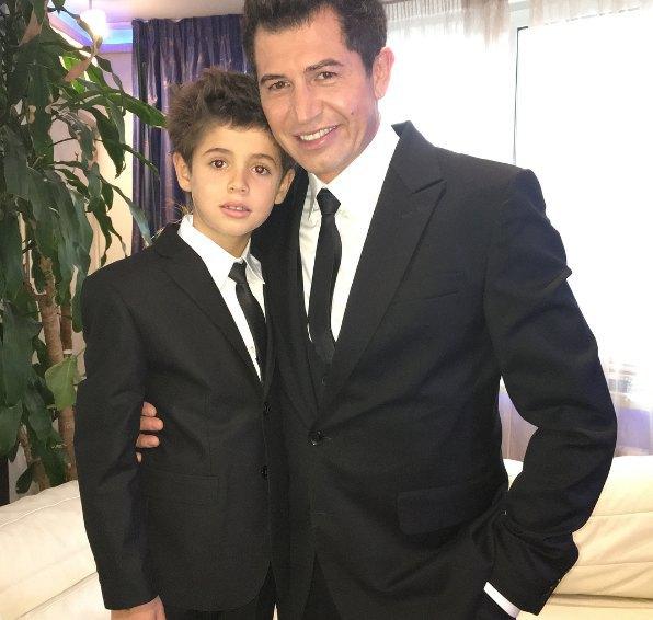 Джеджула с сыном Даниэлем