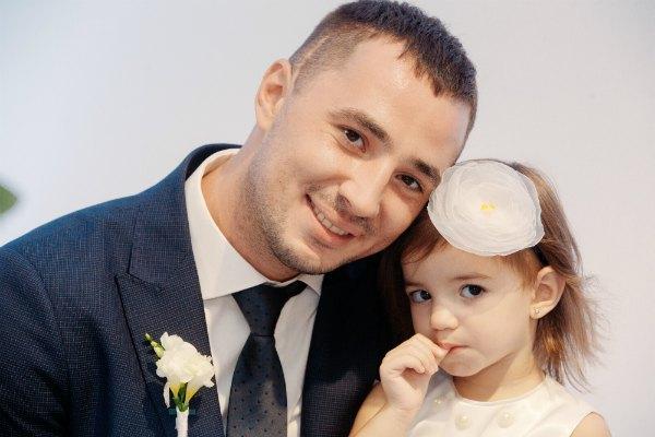 Євген Терехов з дочкою