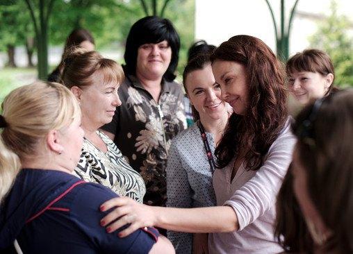 В последние годы актриса стала активным политическим и общественным деятелем