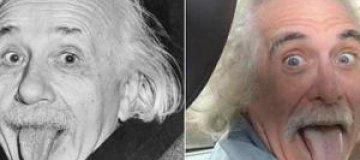 В нью-йоркском такси работает копия Эйнштейна