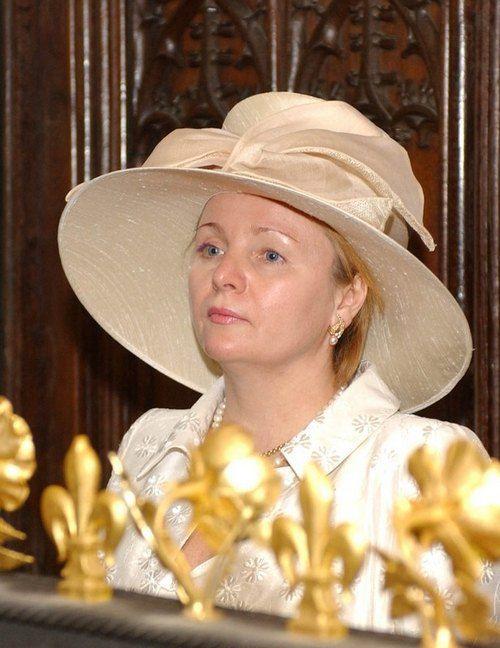 Людмила Путина в Лондоне. 2003 год