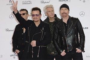 """""""U2"""" устроили концерт в нью-йоркском метро"""