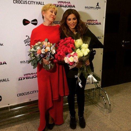 Ани Лорак и Ирина Дубцова