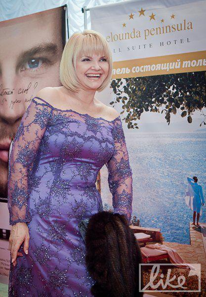 Телеведущая Светлана Леонтьева