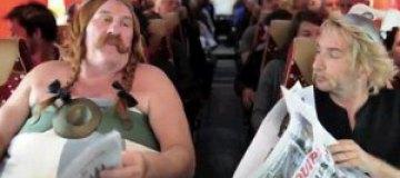 Депардье высмеял свой конфуз в самолете