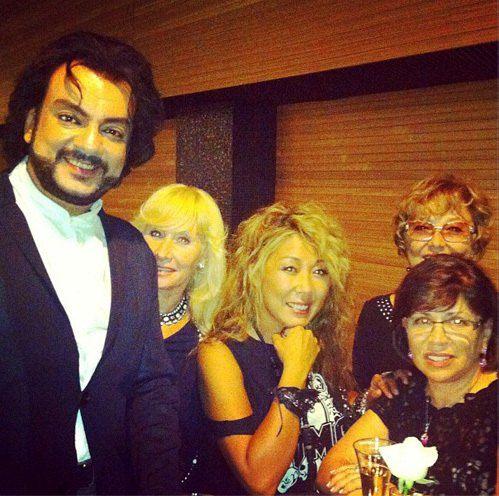 Российские артисты в ожидании встречи с Мадонной