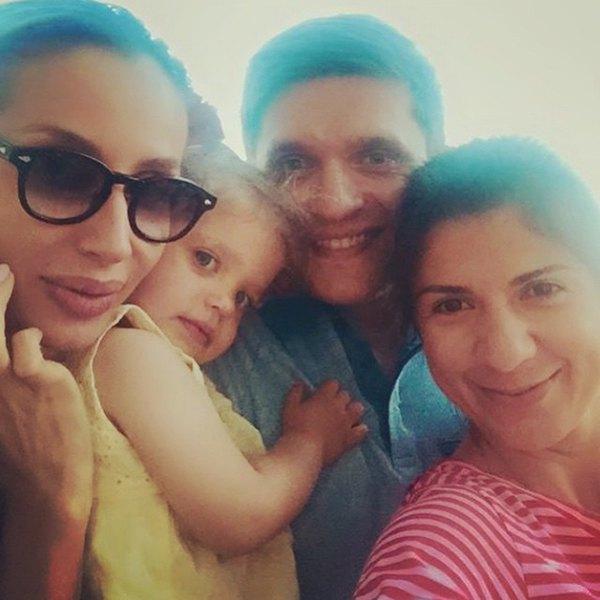 Светлана Лобода, Анатолий Анатолич с дочкой Лолой и Нателла Крапивина