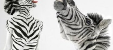 Животные инстинкты: обнаженные модели и дикие звери