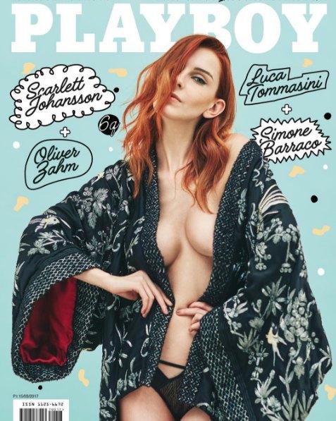 Валерия Радкевич на обложке мартовского Playboy (Италия)