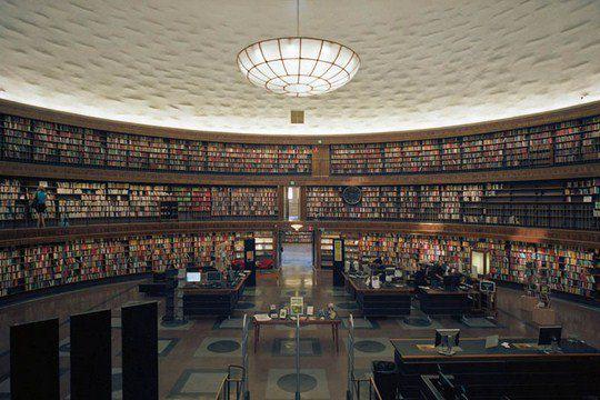 Стокгольмская общественная библиотека, Швеция