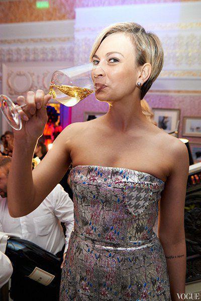 Главный редактор журнала Vogue Маша Цуканова