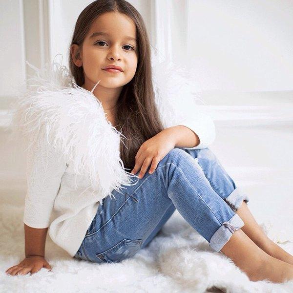 Пятилетняя Маруся Ксении Бородиной