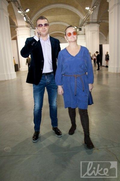 Телеведущий Юрий Горбунов с женой Людмилой
