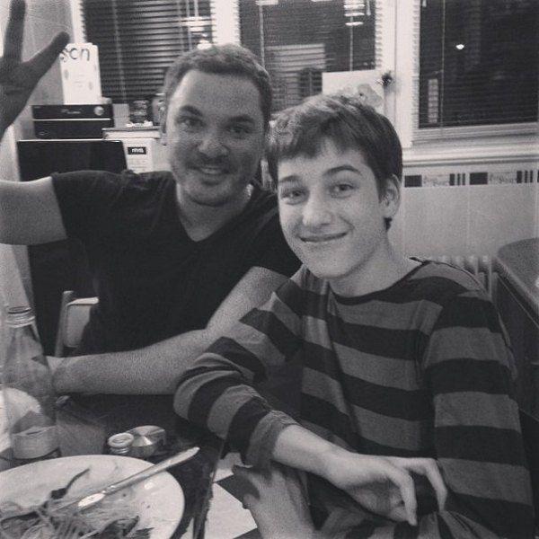 Бабенко с сыном Бадоева