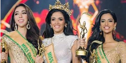 Королева красоты упала в обморок на сцене, как только ее объявили победительницей