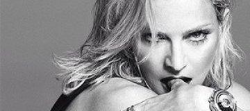 Мадонна в фотосессии для Versace