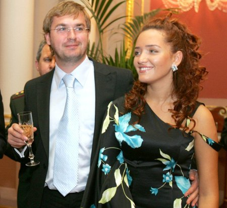 Александр Пономарев и Виктория Мартынюк