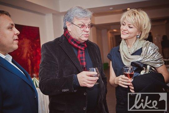 Главный продюсер НТКУ Илья Ноябрев с супругой