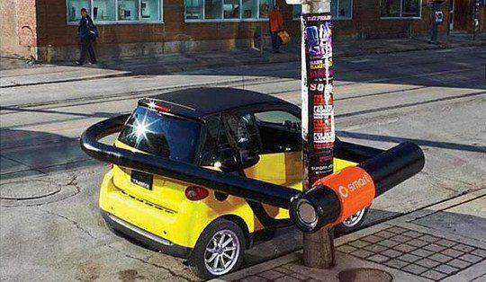 Автомобили Smart: Велозамок