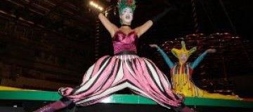 Маша Ефросинина стала цирковым клоуном