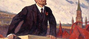 В Украине снимают фильм о Ленине