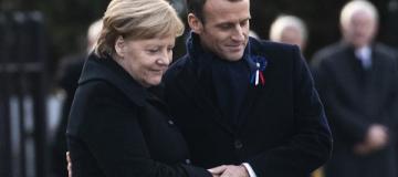 Ангелу Меркель перепутали с Брижит Макрон