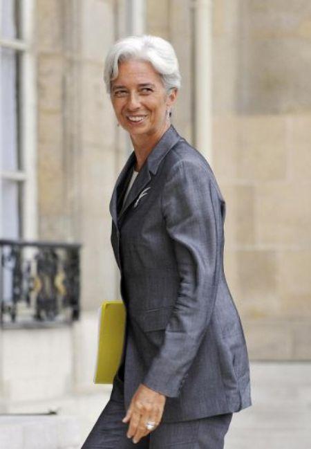 6. Кристин Лагард, директор-распорядитель МВФ