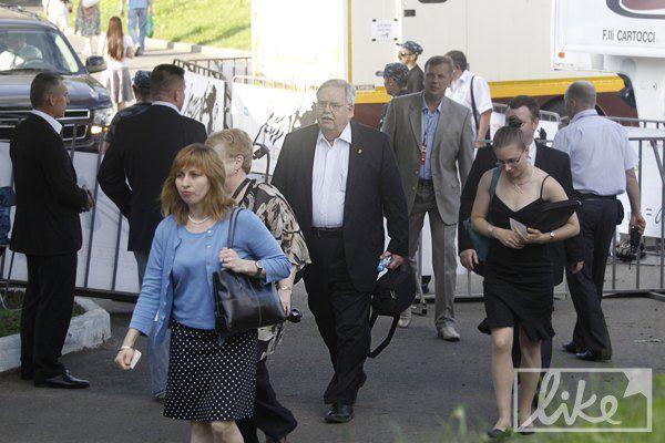 Посол США в Украине Джон Теффт с женой