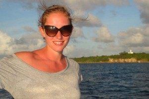 Катя Осадчая на Карибах поплавала с черепахами