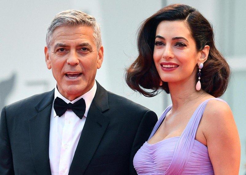 Джорд и Амаль Клуни