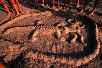 Cable Beach (Австралия): крокодилы