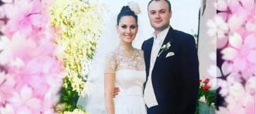 Ефросинина с мужем обменялись поздравлениями по случаю 15-летия брака